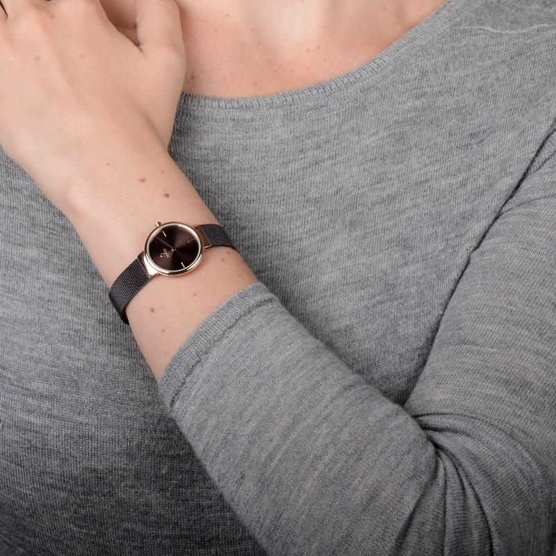 Obaku Women watch KLAR LILLE - WALNUT SM1 view