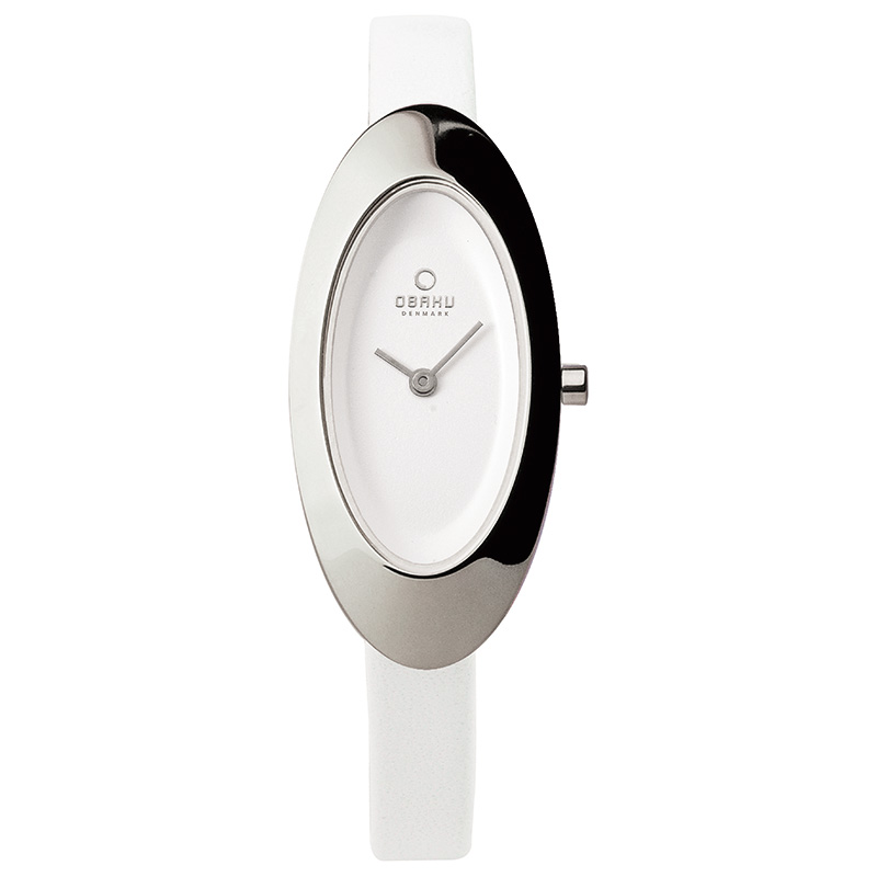 Obaku Women watch FLIS - SNOW FRONT view