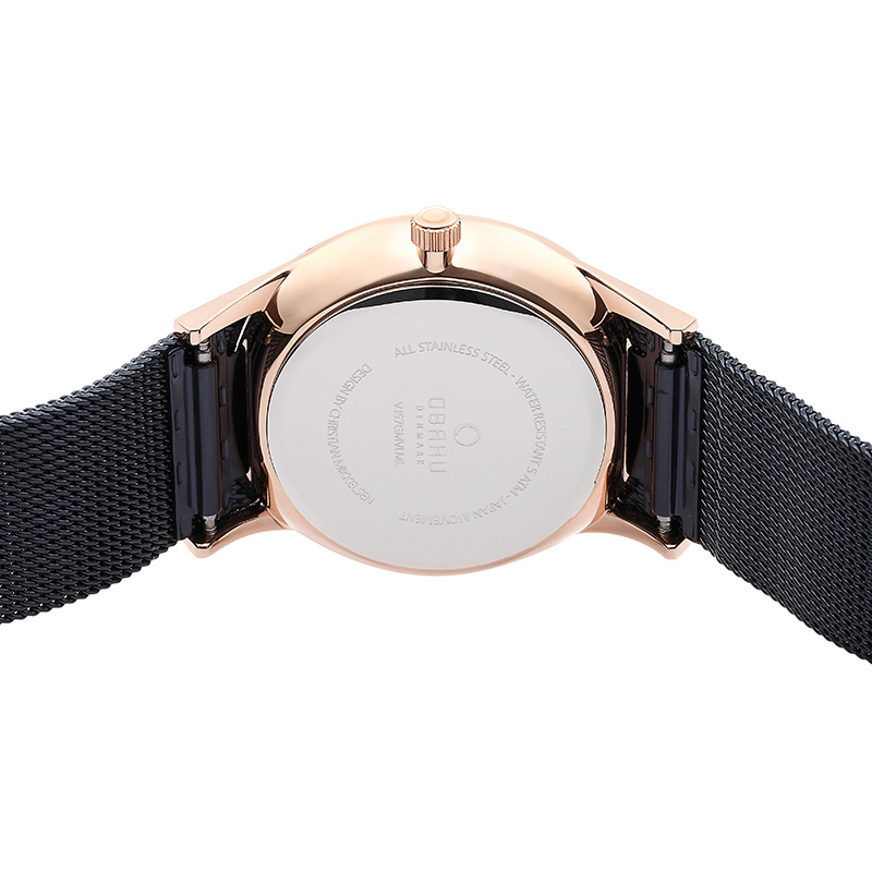 Obaku Men watch TORDEN - OCEAN BACK view