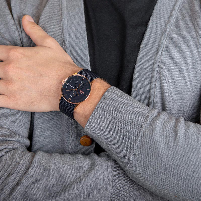Obaku Men watch TORDEN - OCEAN WRIST view