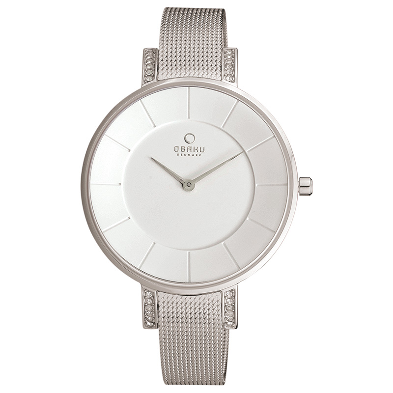 Obaku Women watch LUN - STEEL FRONT view