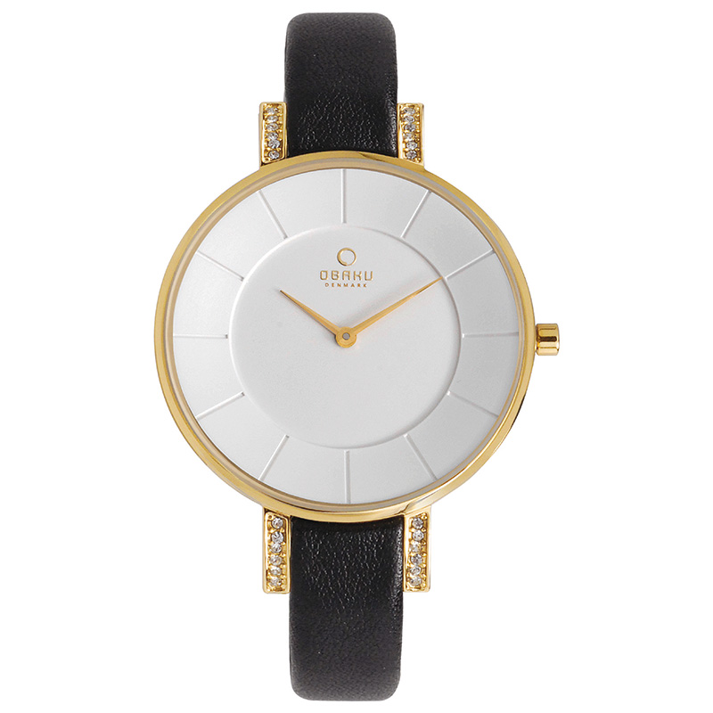 Obaku Women watch LUN - MOON FRONT view
