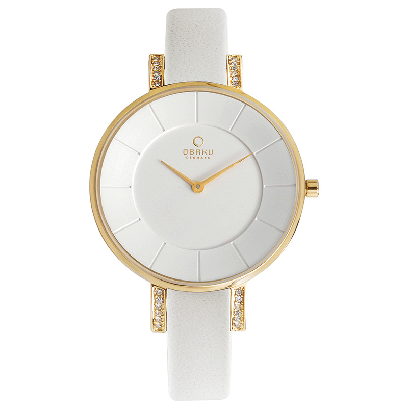 Obaku Women watch LUN - COTTON FRONT view