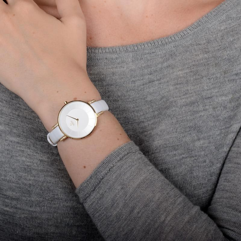 Obaku Women watch LUN - COTTON WRIST view