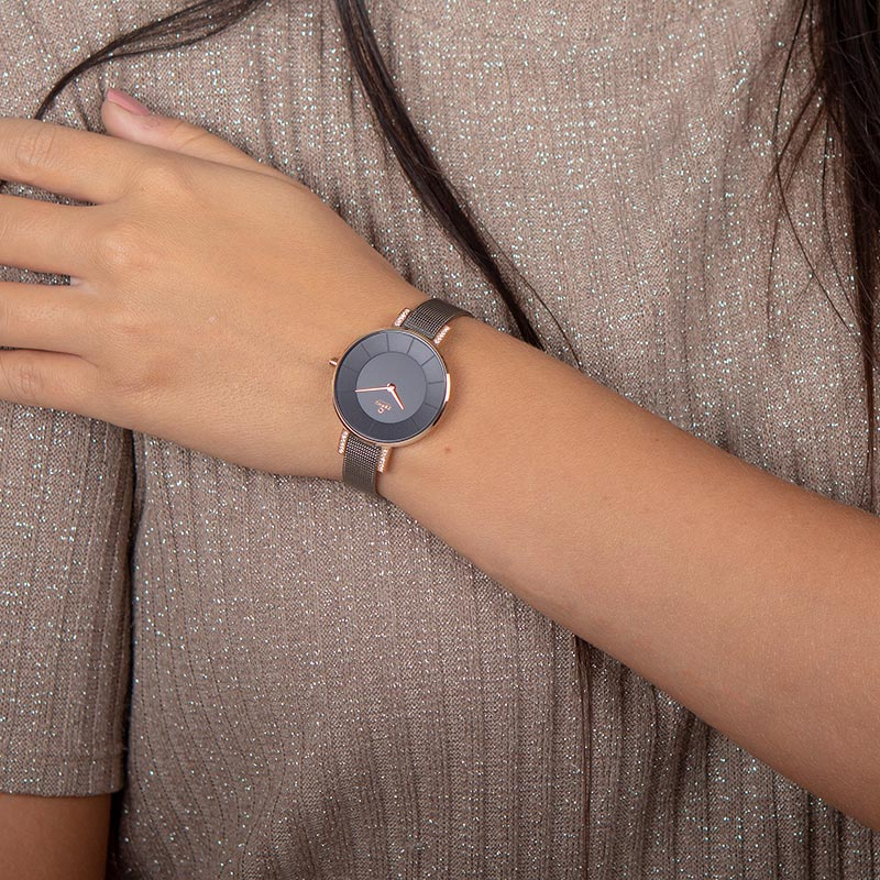 Obaku Women watch LUN - GRANITE WRIST view