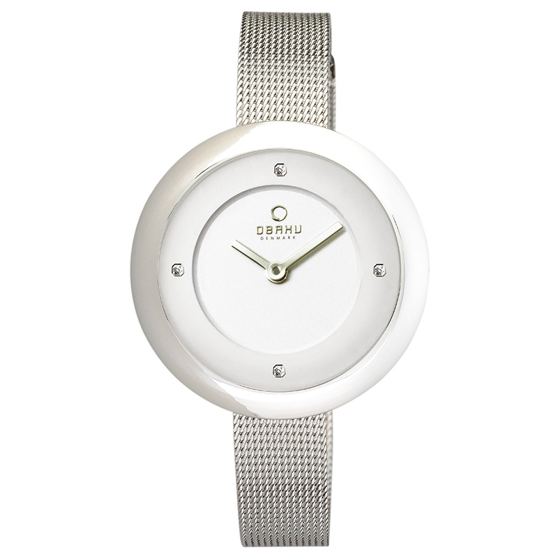 Obaku Women watch LYNG - STEEL FRONT view