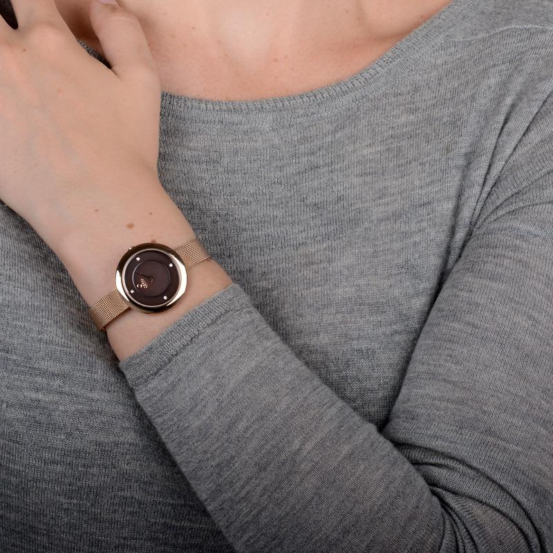 Obaku Women watch LYNG - WALNUT SM1 view