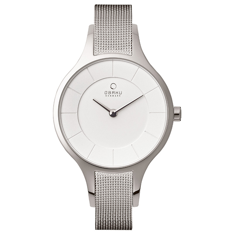 Obaku Women watch DIS - STEEL FRONT view