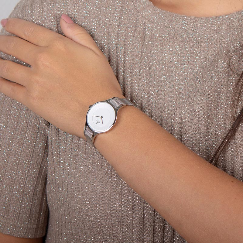 Obaku Women watch DIS - STEEL WRIST view