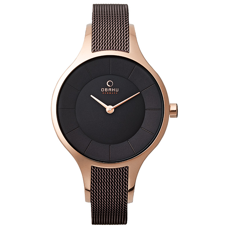 Obaku Women watch DIS - WALNUT