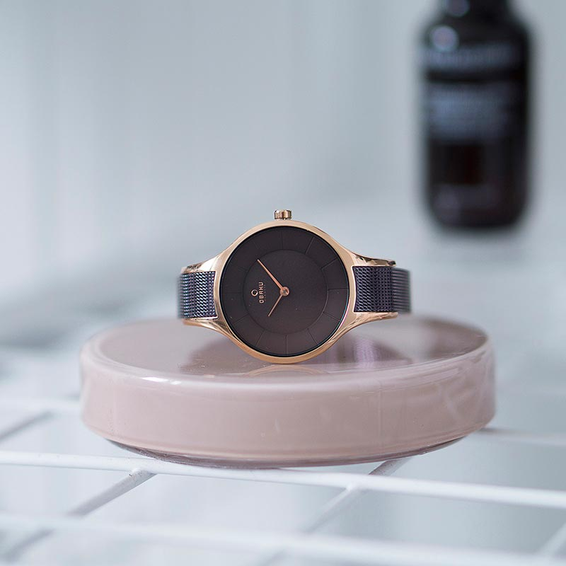 Obaku Women watch DIS - WALNUT SM1 view