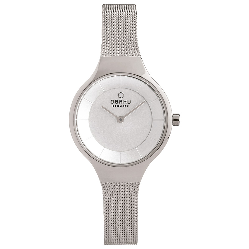 Obaku Women watch EKKO - STEEL FRONT view
