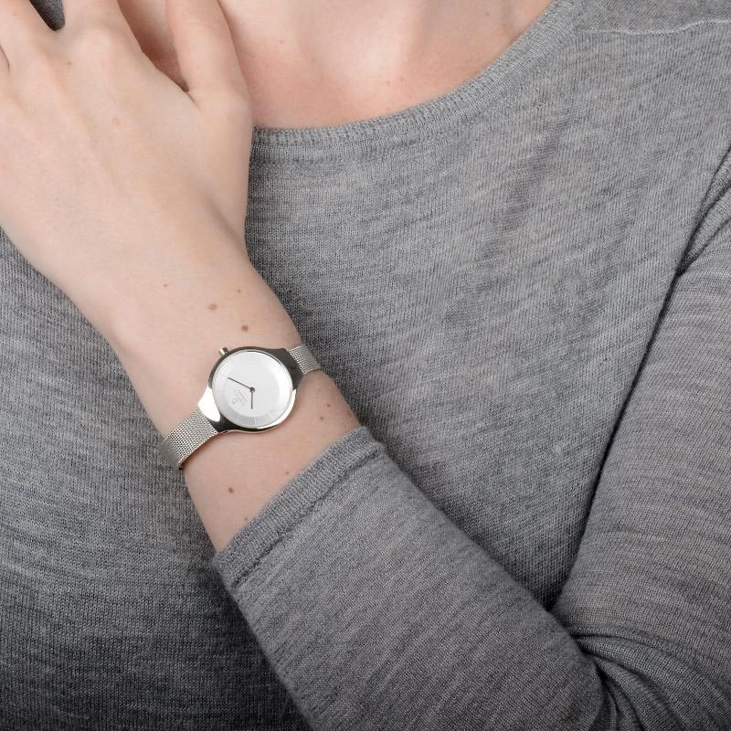 Obaku Women watch EKKO - STEEL WRIST view