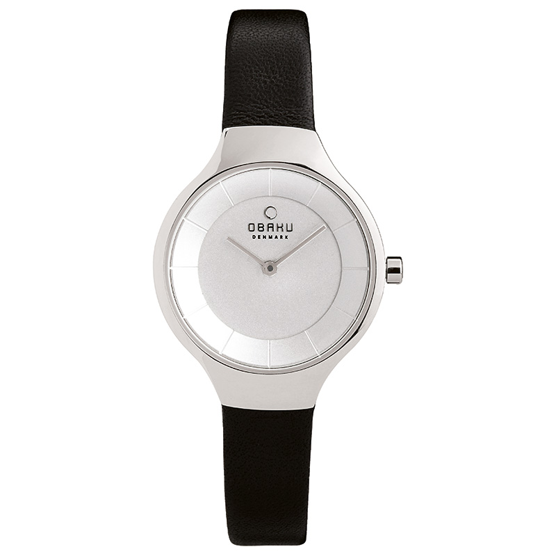 Obaku Women watch EKKO - BLACK FRONT view