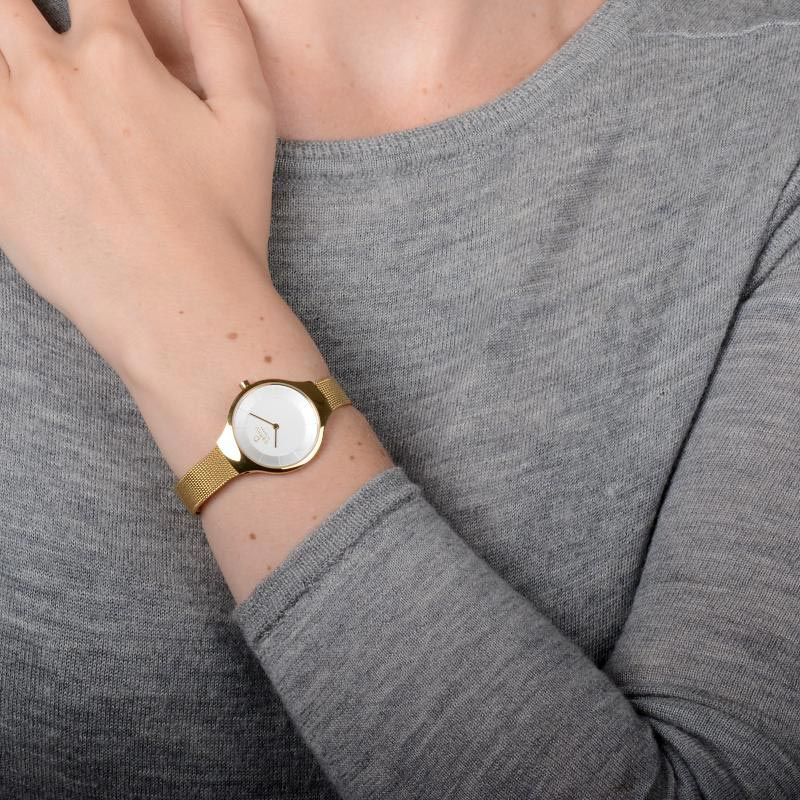 Obaku Women watch EKKO - GOLD WRIST view
