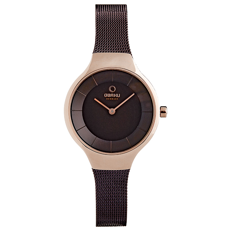 Obaku Women watch EKKO - WALNUT