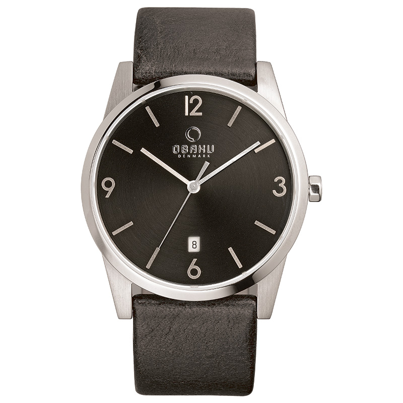 Obaku Men watch STEN - JET FRONT view