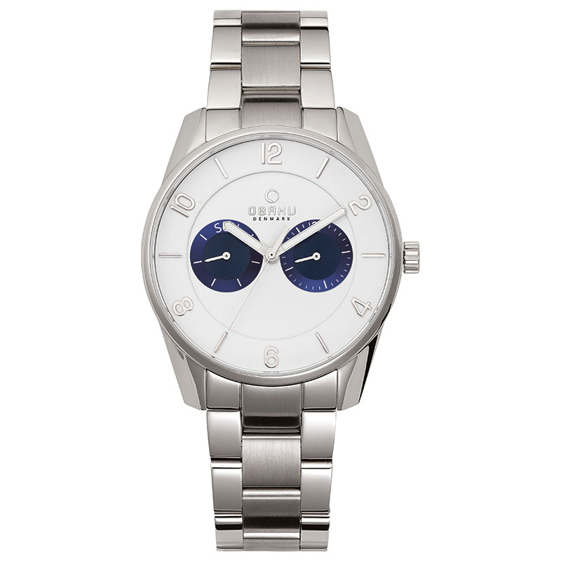 Obaku Men watch FLINT - BRACE FRONT view