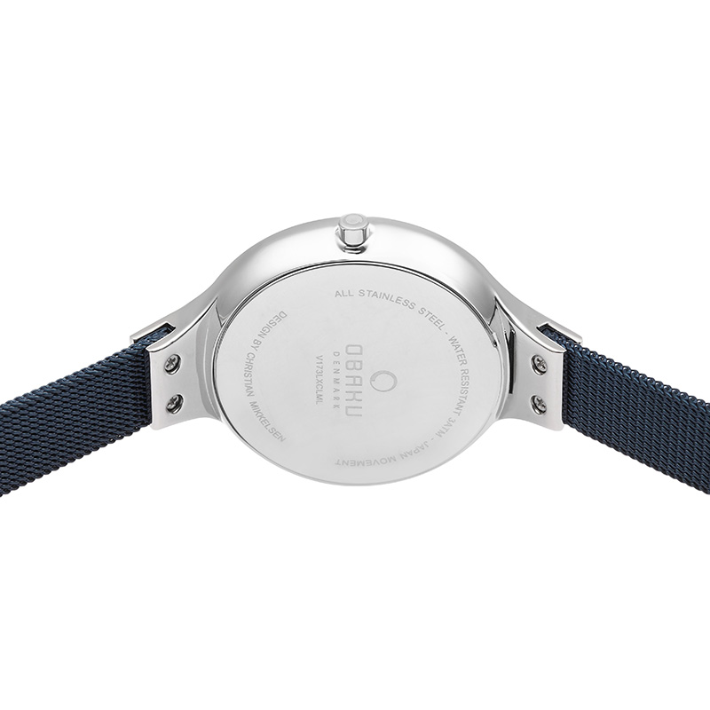 Obaku Women watch SKY - ARCTIC BACK view
