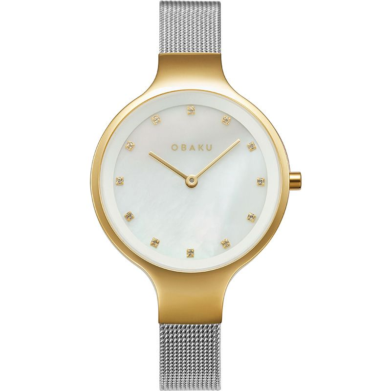 Obaku Women watch SKY - GOLD BI FRONT view