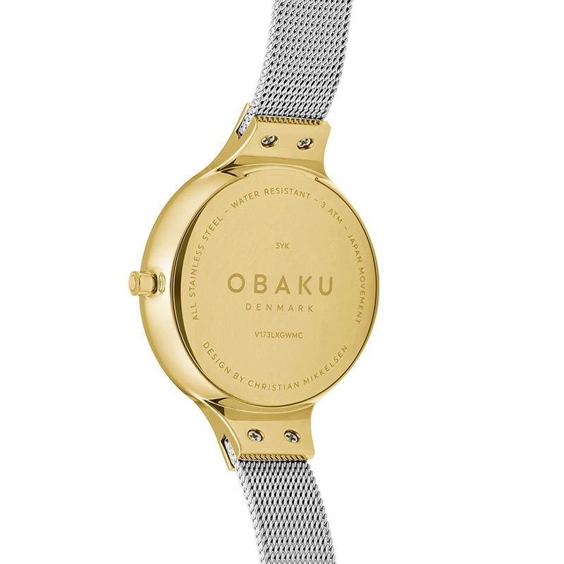 Obaku Women watch SKY - GOLD BI BACK view