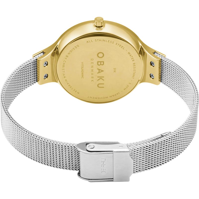 Obaku Women watch SKY - GOLD BI CLOSE view