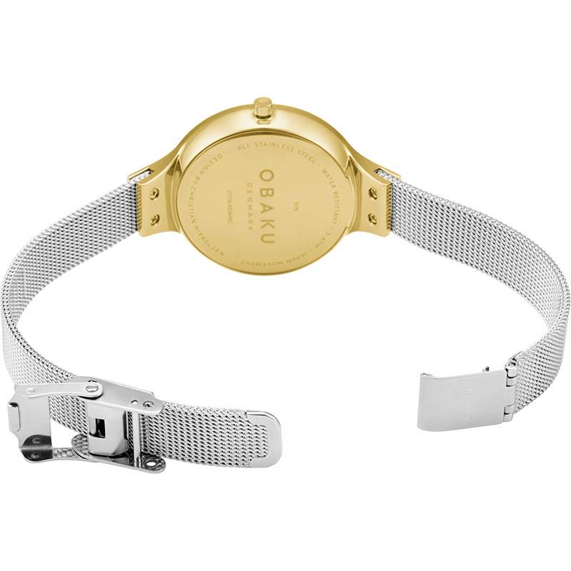 Obaku Women watch SKY - GOLD BI OPEN view