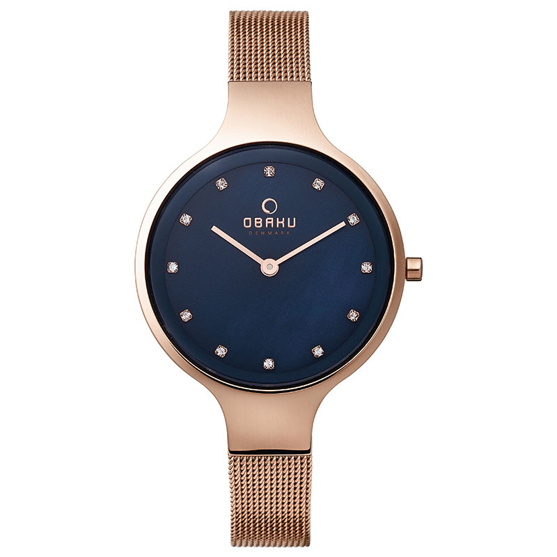 Obaku Women watch SKY - AZURE FRONT view