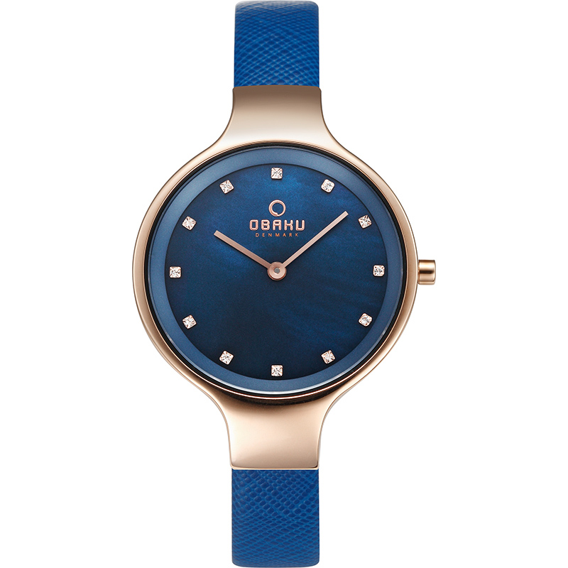 Obaku Women watch SKY - NAVY FRONT view