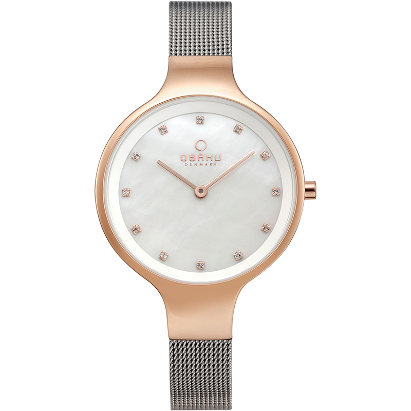 Obaku Women watch SKY - ROSE BI FRONT view