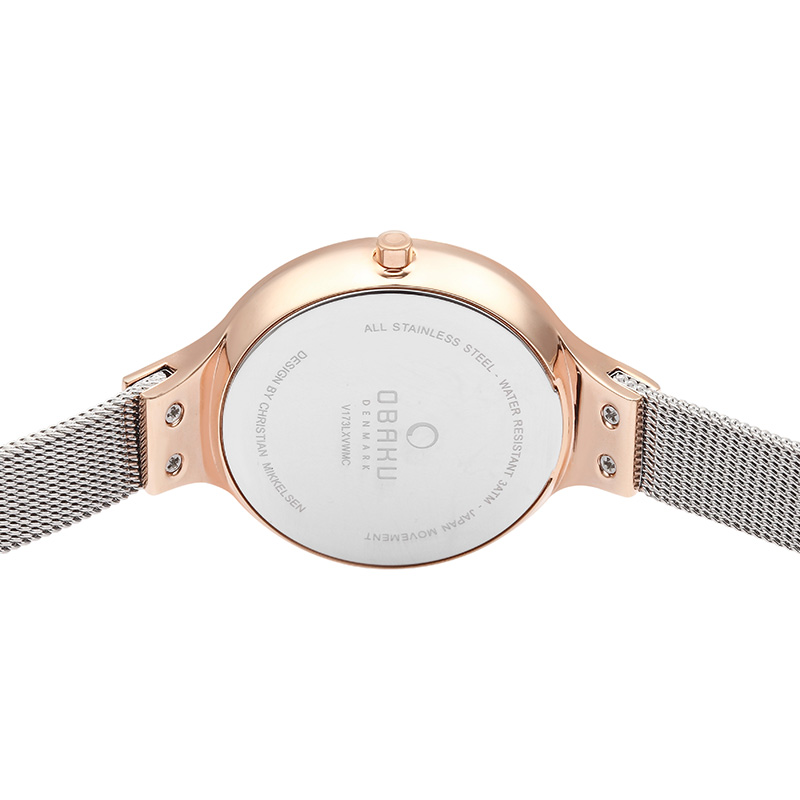 Obaku Women watch SKY - ROSE BI BACK view