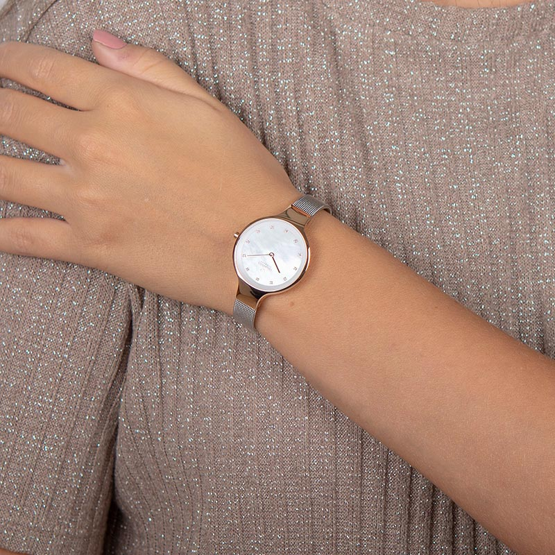 Obaku Women watch SKY - ROSE BI WRIST view