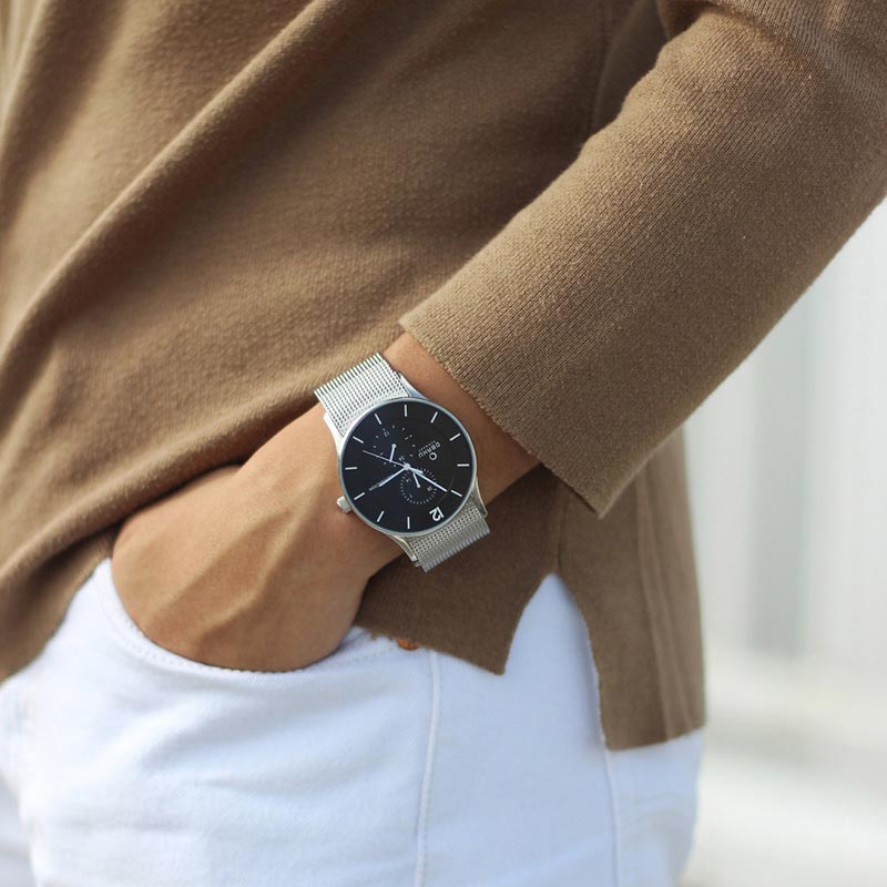 Obaku Men watch VILD - ONYX SM1 view