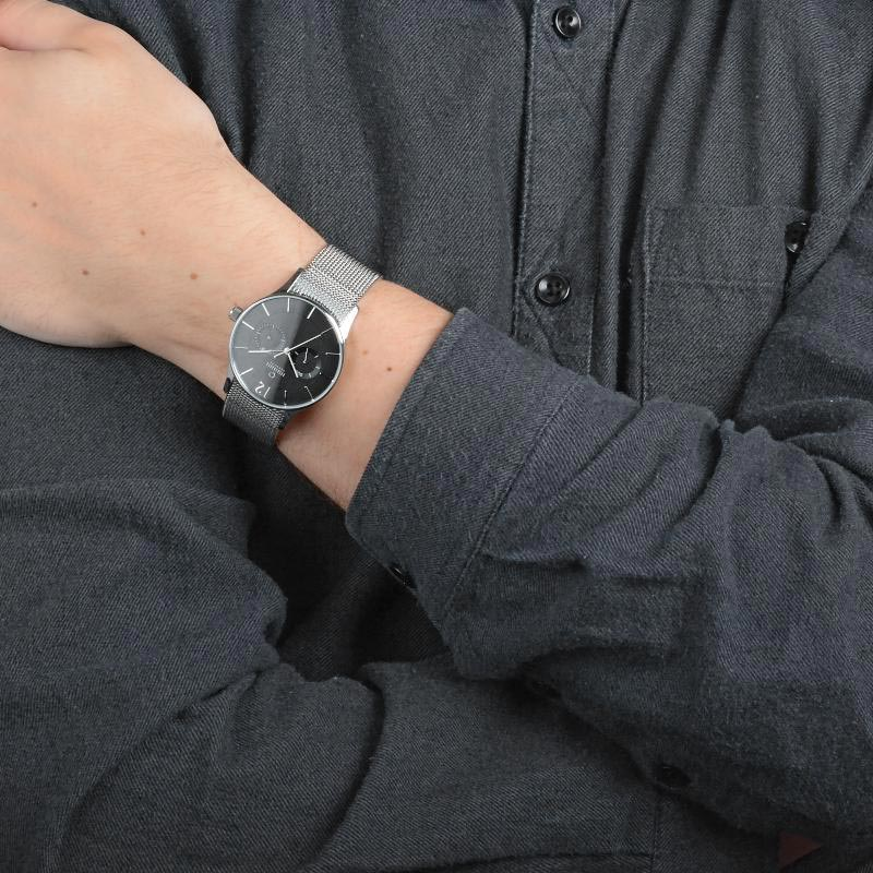 Obaku Men watch VILD - ONYX WRIST view