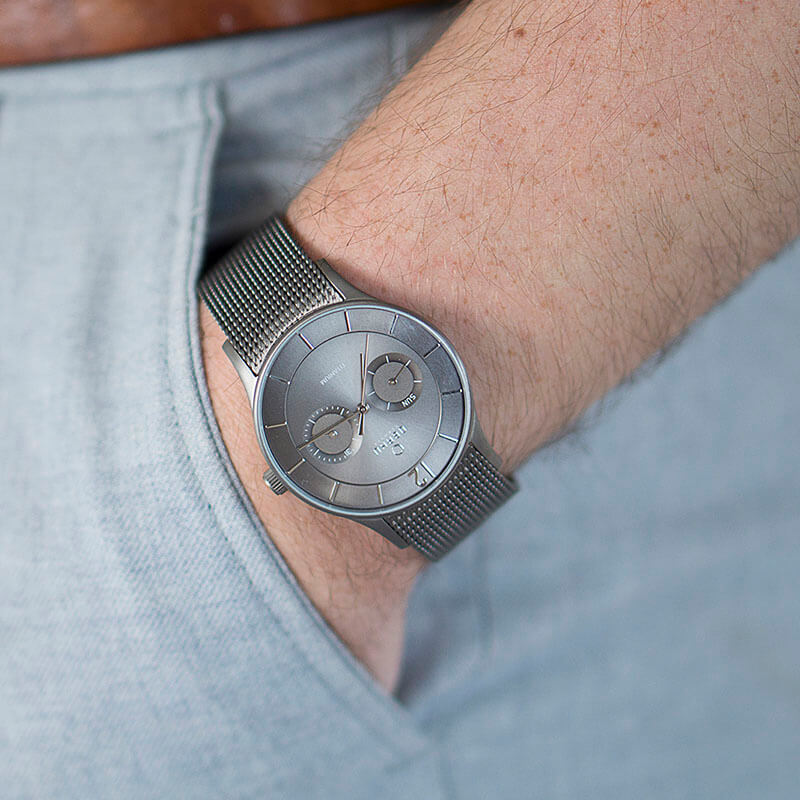 Obaku Men watch VILD - TITANIUM SM1 view