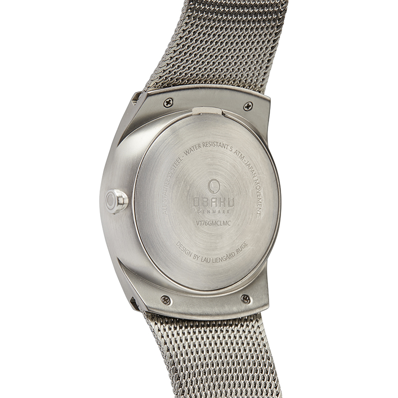 Obaku Men watch JORD - CYAN BACK view