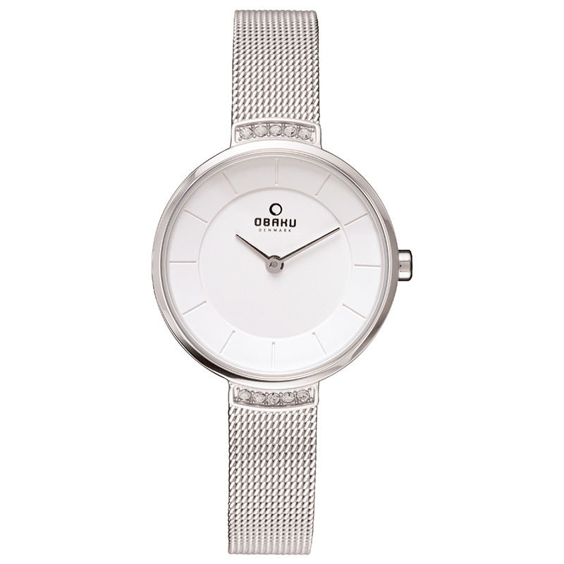 Obaku Women watch VARM - STEEL FRONT view
