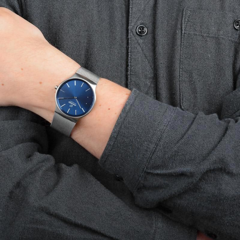 Obaku Men watch ROLIG - CYAN WRIST view