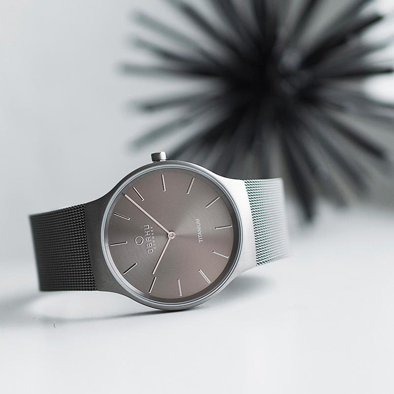 Obaku Men watch ROLIG - TITANIUM SM1 view