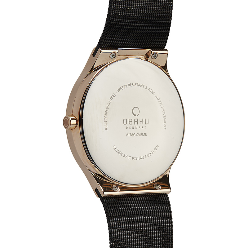 Obaku Men watch ROLIG - NIGHT BACK view