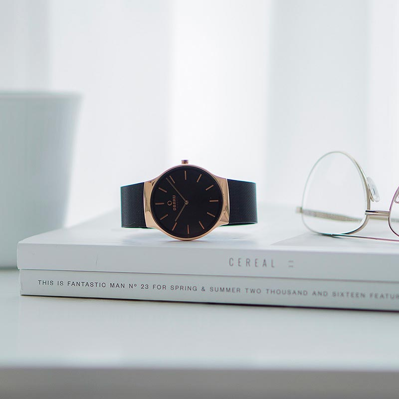Obaku Men watch ROLIG - NIGHT SM1 view