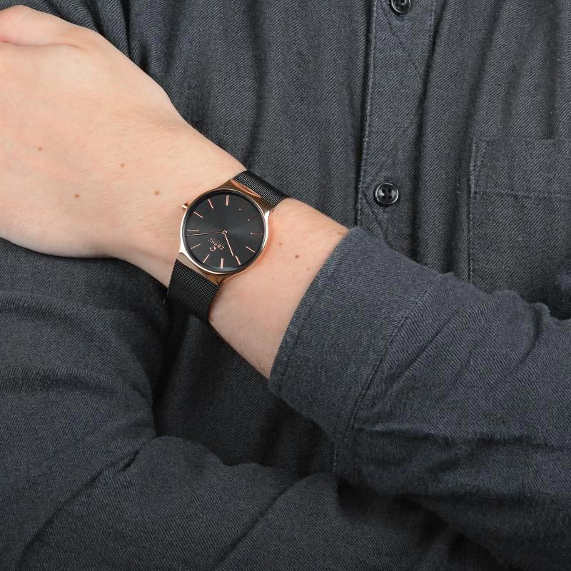Obaku Men watch ROLIG - NIGHT WRIST view