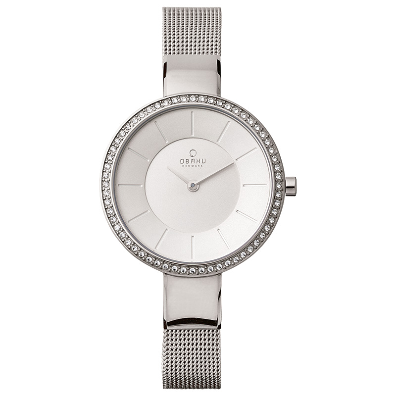 Obaku Women watch SOL GLIMT - STEEL FRONT view