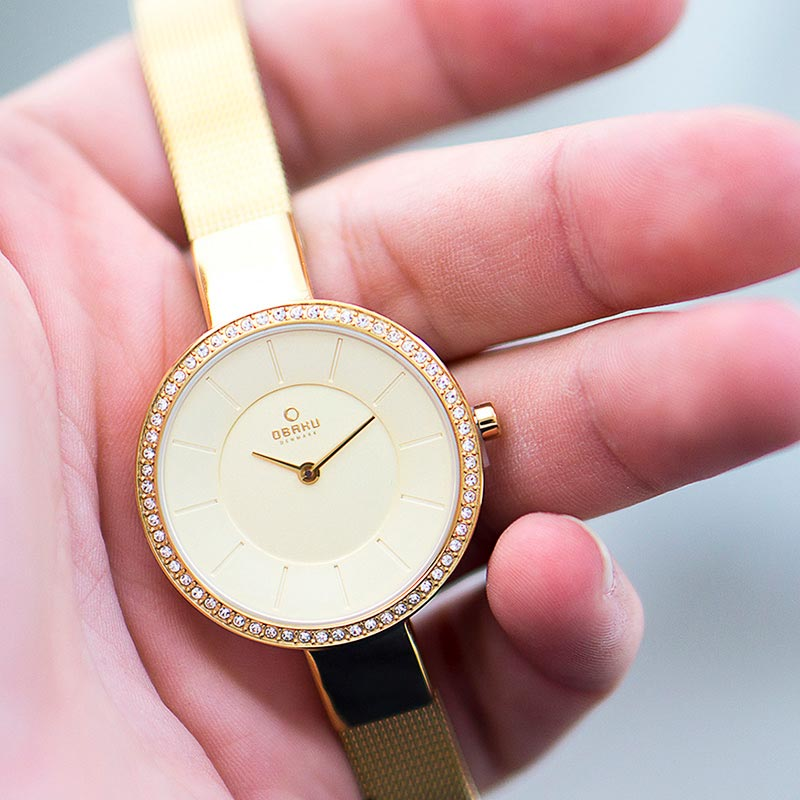 Obaku Women watch SOL GLIMT - GOLD SM2 view