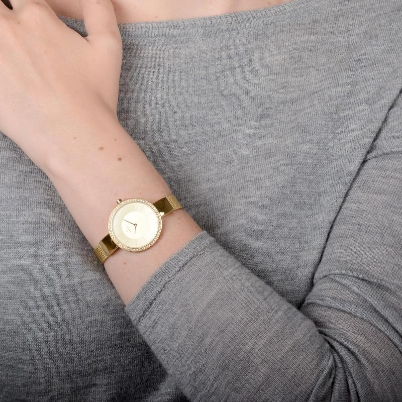 Obaku Women watch SOL GLIMT - GOLD WRIST view