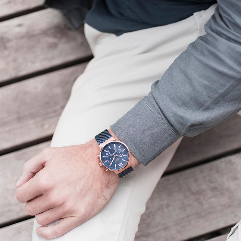Obaku Men watch STORM - OCEAN SM1 view