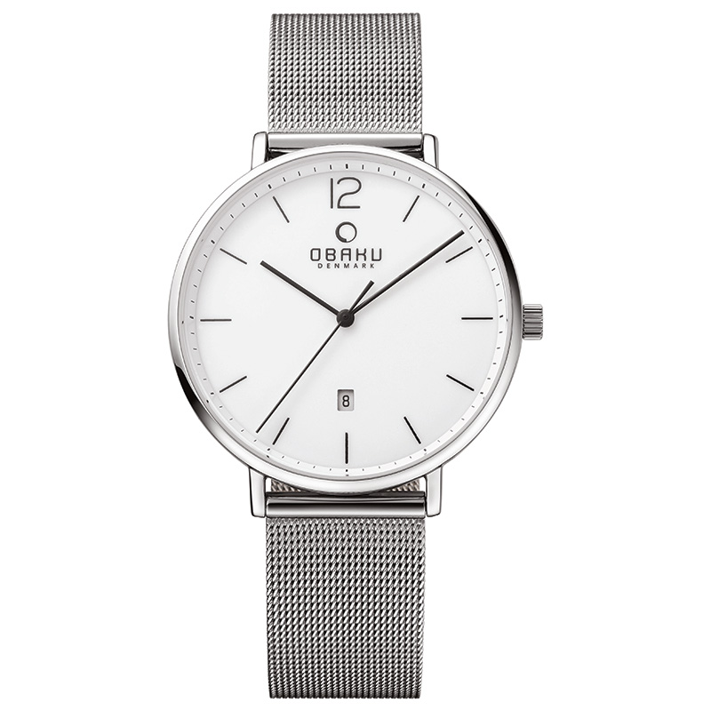 Obaku Men watch TOFT - STEEL FRONT view