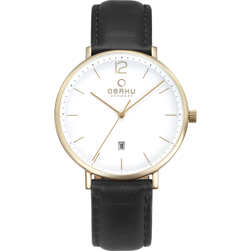 Obaku Men watch TOFT - MOON FRONT view
