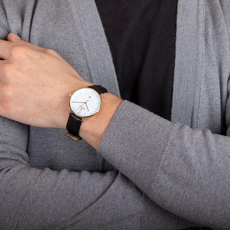Obaku Men watch TOFT - MOON WRIST view