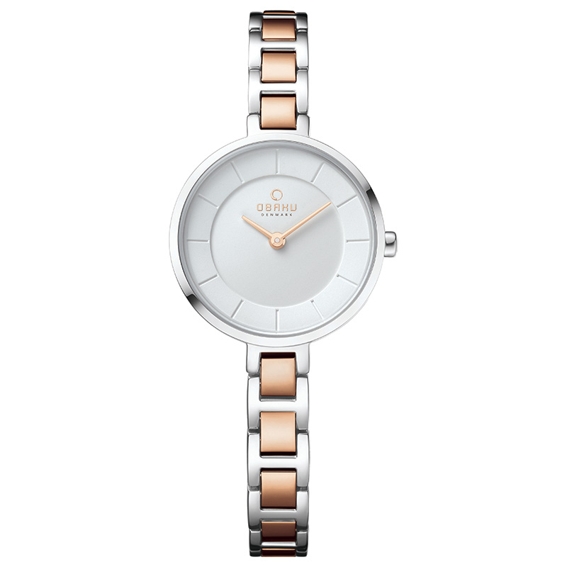 Obaku Women watch VIND - PEACH FRONT view